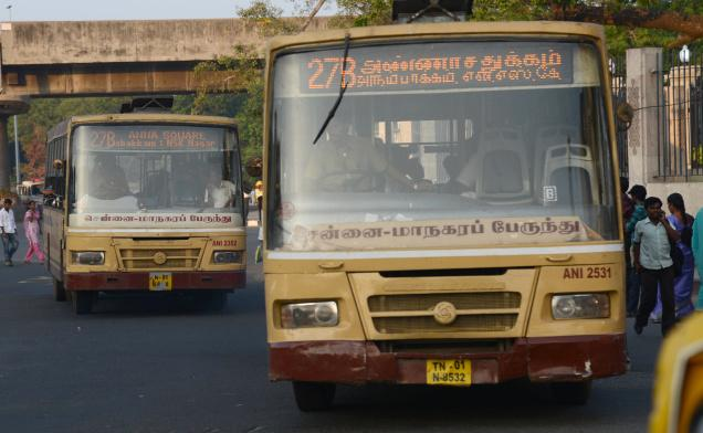 Commuters Say They Face The Problem Frequently On Route 27b Cmbt To Anna Square P O K V Srinivasan