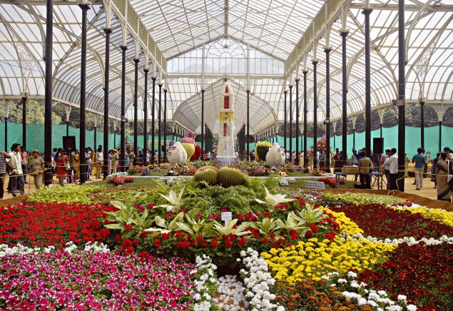 200th flower show at lalbagh this august - Glass house show ...